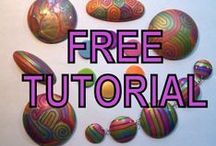Video-Tutorials POLYMER CLAY / STEP BY STEP learning to do art from POLYMER CLAY