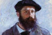 Claude Monet / Obras e tudo que tenha relação com o pintor Claude Monet.