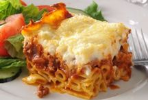 Pasta Dishes / From the classic spaghetti & macaroni, to lasagna, tagliatelle, bowtie, penne, and spaghettini. You name it, I've tried it. And I must admit I'm hooked on pastas!
