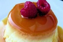 Yummy Desserts / Flans, mousses, custards, creme brulees, cream puffs. Rich, delightfully tempting desserts made of these sinfully dreamy recipes.