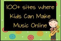 Music for Kids / Tools and resources for kids who want to learn to read, play, and compose music.