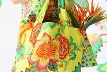 Bolsas / Bolsas de tecido e artesanais.