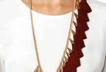 Fringe's Jewelry / amazing jewels made of fringes