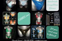 CJanee' Designs / Custom made NPC, IFBB Competition Bikinis, Trunks, Figure & Posing Suits. Start your order on www.CJANEE.com