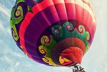 Balloons / Balões e sua poesia e liberdade...