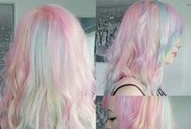 Hair inspiration / Our favourite hairstyles and colors <3