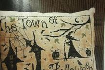 Cross Stitch/Halloween, Autumn