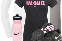 Fitness Apparel / Fitness clothes and gears for women.