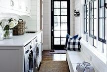 Laundry Rooms / Laundry Room Design, Style, and Inspiration #interiordesign #homedecor #laundryroom
