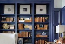 Bookcases & Built-Ins / Bookcases and Built-In Cabinetry Design, Styling, and Inspiration #interiordesign #homedecor #styling #bookcase #builtin