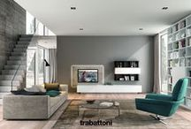 Living & TV/ Audio systems / Modern design living room furniture and TV/ Audio systems merging into a single harmonious concept.