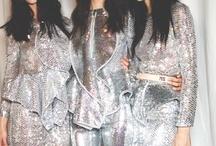 M E T A L L I C S / silver × gold × metallic × holographic