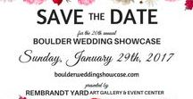 Boulder Wedding Showcase / Here are some photos of last year's Boulder Wedding Showcase.  This year's will be held here at Rembrandt Yard and the Boulder Theater on January 29, 2017.  Call us for more details at 303.301.2972, or check out our showcase website at www.boulderweddingshowcase.com #rembrandtyard #boulder #colorado