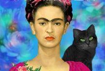 Extraordinary Frida Kahlo <3 / Frida Kahlo & around