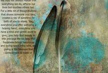 veren, feathers / Boodschappers op je levenspad