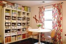 Quilt Room Ideas / by Deb E.
