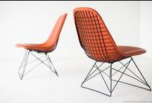 Swanky Abode Mid Century Seating / theswankyabode's collection of fabulous mid century chairs, benches and stools