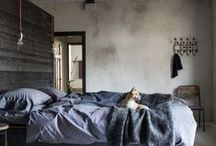 Swanky Textiles for a swanky abode / what we need to sleep well
