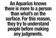 • AQUARIUS • / Collecting here all the aquarius stuff I relate to.