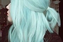 Turquoise hairstyles