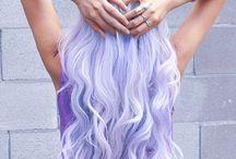 Violet hairstyles