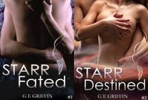 STARR Series by G E GRIFFIN /  Characters and locations.