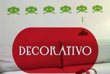 Vinilos Decorativos / Vinilos decorativos variados que crearán un hogar más especial para ti. www.ideavinilo.es