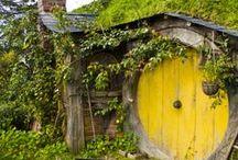Natural building / Cob, earth, natural, organic, self-sufficiency, clay, strawbale