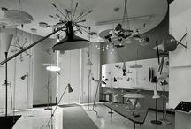 Italian mid century lighting
