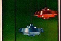 Scandinavian mid century lighting