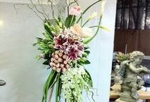 Flowers / Beautiful floral arrangements for caskets and stands