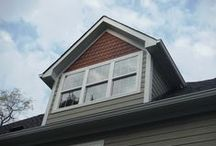 Hardie Monterey Taupe with CertainTeed Shingle   Wildwood, MO. (63040) / This is a house improvement with Monterey Taupe James Hardie Siding as well as CertainTeed Shingle Siding.