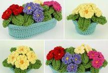 Amigurumi-háčkované rastliny / háčkovanie, crochet, amigurumi