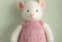 Pletené hračky-Knitted Toys / knitting, pletenie