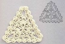 Horgolás 3. háromszög - Crochet 3. triangles