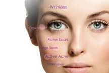 Face getting you down? / Treatments we offer for lifting and toning!