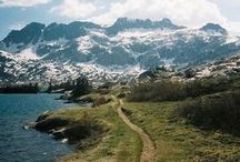 Hohe Berge weite Täler / Mietwagen - Come with us and get the highest mountain peaks of the World
