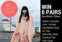 Competitions / Win Scarletto's shopping vouchers and prizes.