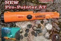 GARRETT ProPointer Pin Pointer Metalldetektor / Der weltweit meistverkauften PinPointer bei www.nuggets.at - mit Vibration + Fundtonanzeige + LED Licht - einfache Suche im Grabungslock und in schon ausgehobener Erde - höchste Empfindlichkeit auf noch kleinste Metallobjekte !