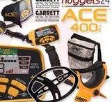 GARRETT ACE Metal Detector www.nuggets24.com / all about worldwide most selling Treasure Hunting machines GARRETT ACE Series