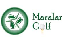 MaralarGolf.com / Logotipo de nuestra central de reservas de green fee y tee times. Maralar Golf. www.maralargolf.com