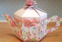 Teapot Treats Gift Box / The perfect gift for any tea-lover!  https://www.etsy.com/uk/shop/EsselleCrafts