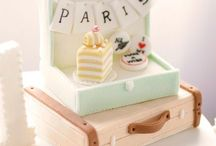 Travel Inspired Parties / Travel inspired cakes, decorations and invites.