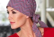 Christine Headwear / Feminine, comfortable & Beautiful headscarves ideal for women coping with hair loss through cancer treatment or Alopecia. When Women suffer a serious disease and treatment makes them lose their hair, they fight not only to survive, but also to sustain a feeling of normality, femininity and dignity. Christine Headwear products are designed to provide these women with a real choice and the opportunity to feel beautiful during a difficult time.