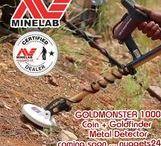 MINELAB Gold Detectors / Minelab Metalldetektor für Goldsuche in schwierigen Böden - SDC 2300 + CTX3030 + GPX5000 + Excalibur II + X-Terra GoldPack