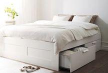 Quartos | IKEA / Ideias e inspiração para quartos. Para dormir bem e acordar melhor.  #quartos #decoração #IKEAPortugal / by IKEA Portugal