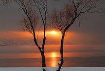 Amanecer y Ocaso / Del amanecer y el crepúsculo.