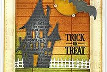 Crafting for Halloween / Find Halloween crafting products and some cool ideas on what to do with them to make some fabulous cards and gifts this Halloween!