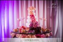 Let them eat cake! Wedding Cakes / Nisie's Enchanted Florist designs the sweet side of life -- wedding cakes, dessert stations, candy stations