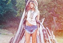 Boho Style / A collection with a boho hippie feel. Available in store.